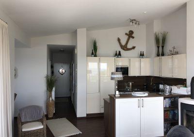 Blick zum Flur/zur Küche