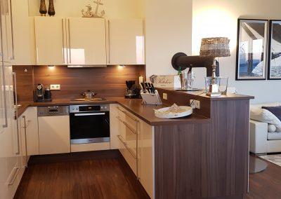 Küche perfekt ausgestattet