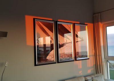 Schiff im Sonnenuntergang 2019-02